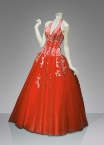 A Beaded Ball Gown