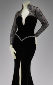 A Black Evening Gown